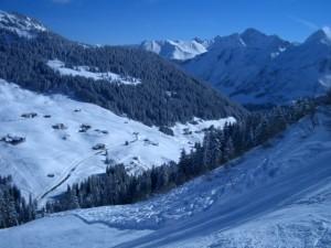 Damüls skigebied