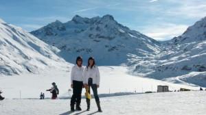 Galtür im Paznauntal skigebied