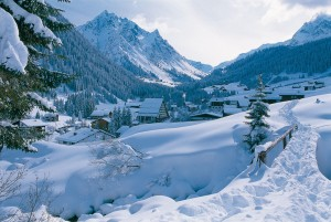 Gargellen skidorp