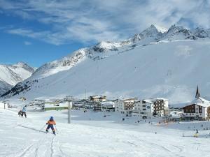 Kühtai skigebied