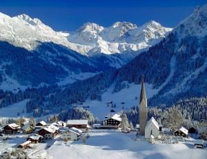 Kleinwalsertal skidorp