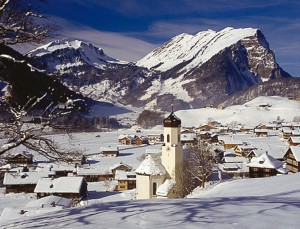 Schoppernau skidorp
