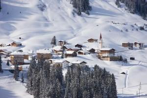 Warth & Schröcken skigebied