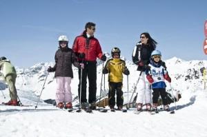 See im Paznauntal skidorp
