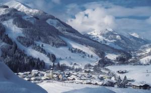 Saalbach-Hinterglemm skidorpen