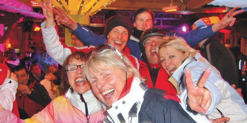 Après-ski in Oostenrijk