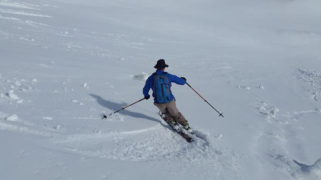 Wintersport in april; goedkoop genieten