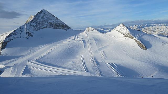 Op skivakantie in mei