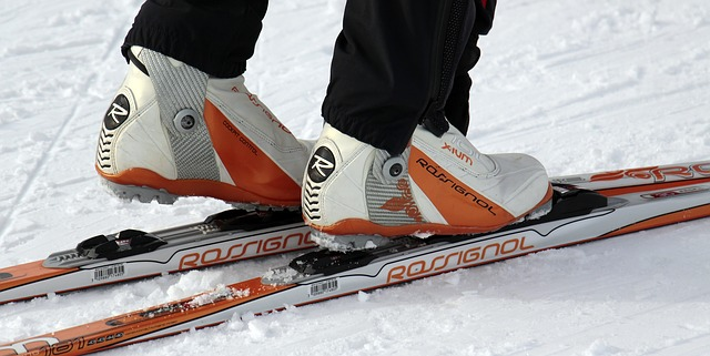 Skiën winter sneeuw